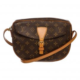 Louis Vuitton Monogram Canvas Leather Jeune Fille PM Crossbody Bag