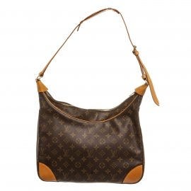 Túi Louis Vuitton Monogram Boulogne 35 cm  Da Canvas