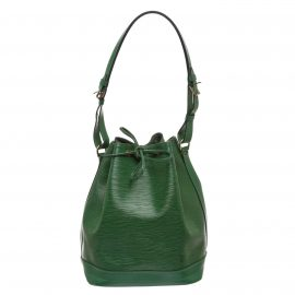 Louis Vuitton Green Epi Leather Noe GM Drawstring Shoulder Bag