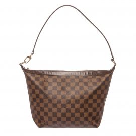 Louis Vuitton Damier Ebene Canvas Leather Illovo MM Bag