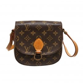 Louis Vuitton Monogram Canvas Leather St. Cloud PM Crossbody Bag