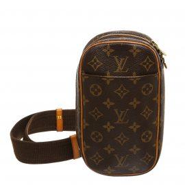 Louis Vuitton Monogram Canvas Leather Gange Crossbody / Waist Bag