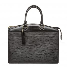 Louis Vuitton Black Epi Leather Riviera Handbag