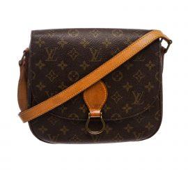 Louis Vuitton Monogram Canvas Leather St Cloud GM Bag
