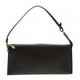Túi đeo vai Louis Vuitton Pochette Da Epi Đen