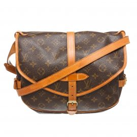 Túi Louis Vuitton Monogram  Saumur 30 cm Canvas Leather