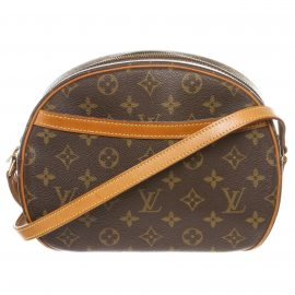 Louis Vuitton Monogram Canvas Leather Blois Crossbody Bag