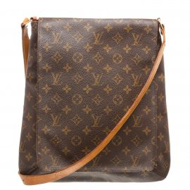 Louis Vuitton Monogram Canvas Leather Musette Salsa GM Bag