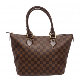 Túi Louis Vuitton Damier Ebene Saleya PM Bag Da Canvas