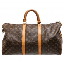 Túi Louis Vuitton Monogram Keepall 50 cm Bandouliere Duffle Da Canvas