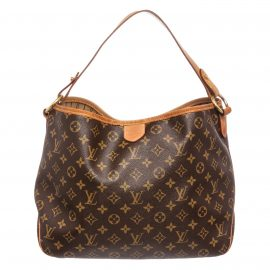 Túi Louis Vuitton Monogram Delightful PM Canvas Leather
