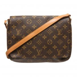 Louis Vuitton Monogram Canvas Leather Tango Shoulder Bag