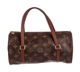 Louis Vuitton Monogram Vintage Papillon 26 Da Canvas