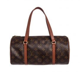 Túi Louis Vuitton Monogram Vintage Papillon 30 cm Da Canvas