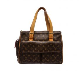 Louis Vuitton Monogram Canvas Leather Multipli Cite Bag