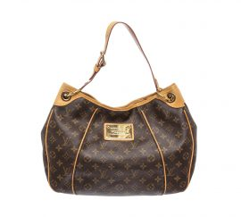 Louis Vuitton Monogram Canvas Leather Galliera PM Bag