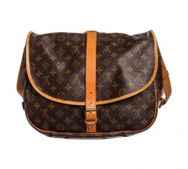 Túi Louis Vuitton Monogram Saumur 35 cm  Da Canvas