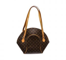 Louis Vuitton Monogram Canvas Leather Ellipse GM Shopper Bag