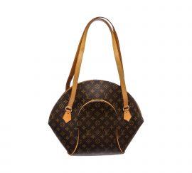 Túi mua sắm Louis Vuitton Monogram Canvas Leather Ellipse GM