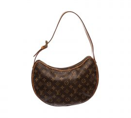 Louis Vuitton Monogram Canvas Leather Croissant MM Bag