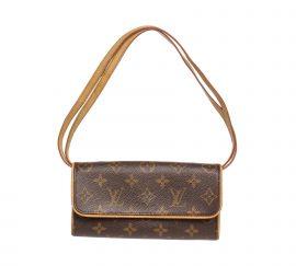 Louis Vuitton Monogram Canvas Leather Twin PM Bag