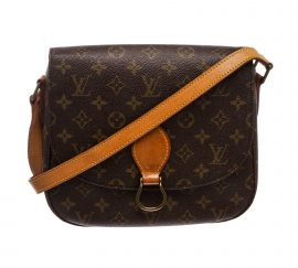 Louis Vuitton Monogram Canvas Leather St Cloud GM Bag
