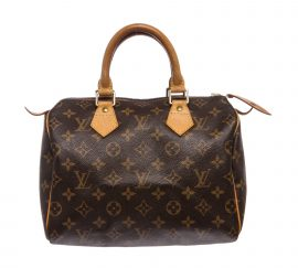 Túi Louis Vuitton Monogram Speedy 25 cm Da Canvas